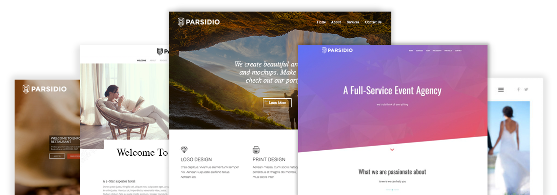 Explore our Themes - Parsidio