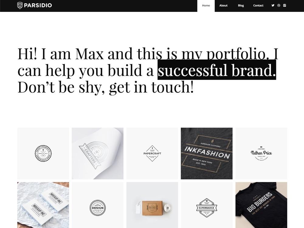 WordPress Branding Theme - Parsidio