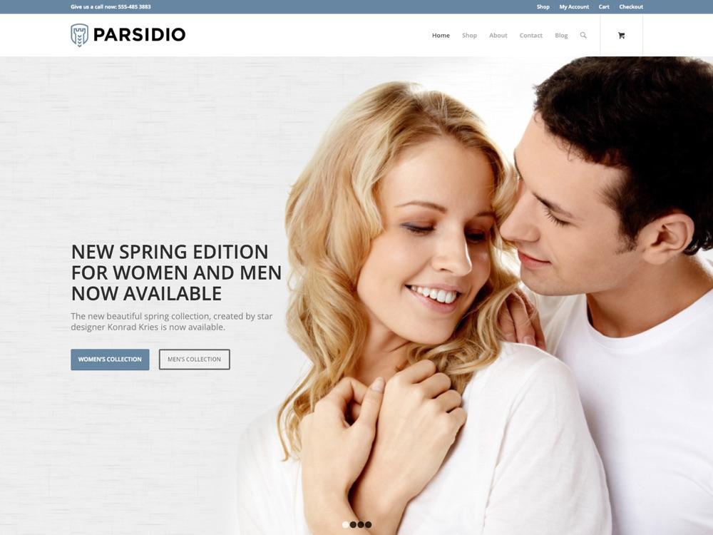 Shop Theme for WordPress - Parsidio